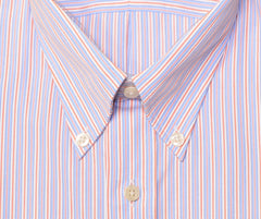 Mens Button Collar Non-Iron Dress Shirt (16.5x34)