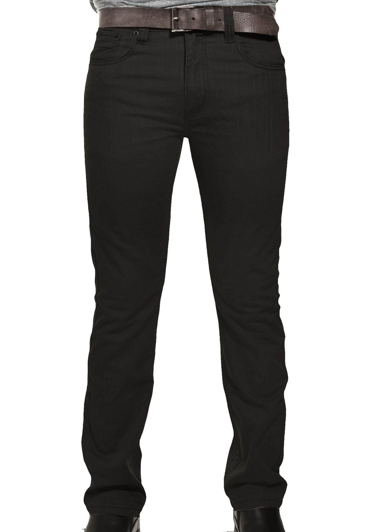 Victorious Mens DL991 Slim Fit Premium Jeans | Black