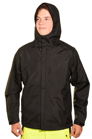 Guides Choice Mens Breathable Waterproof Seattle Storm Watch Parka - Black,Outerwear,Guides Choice - Discount Divas