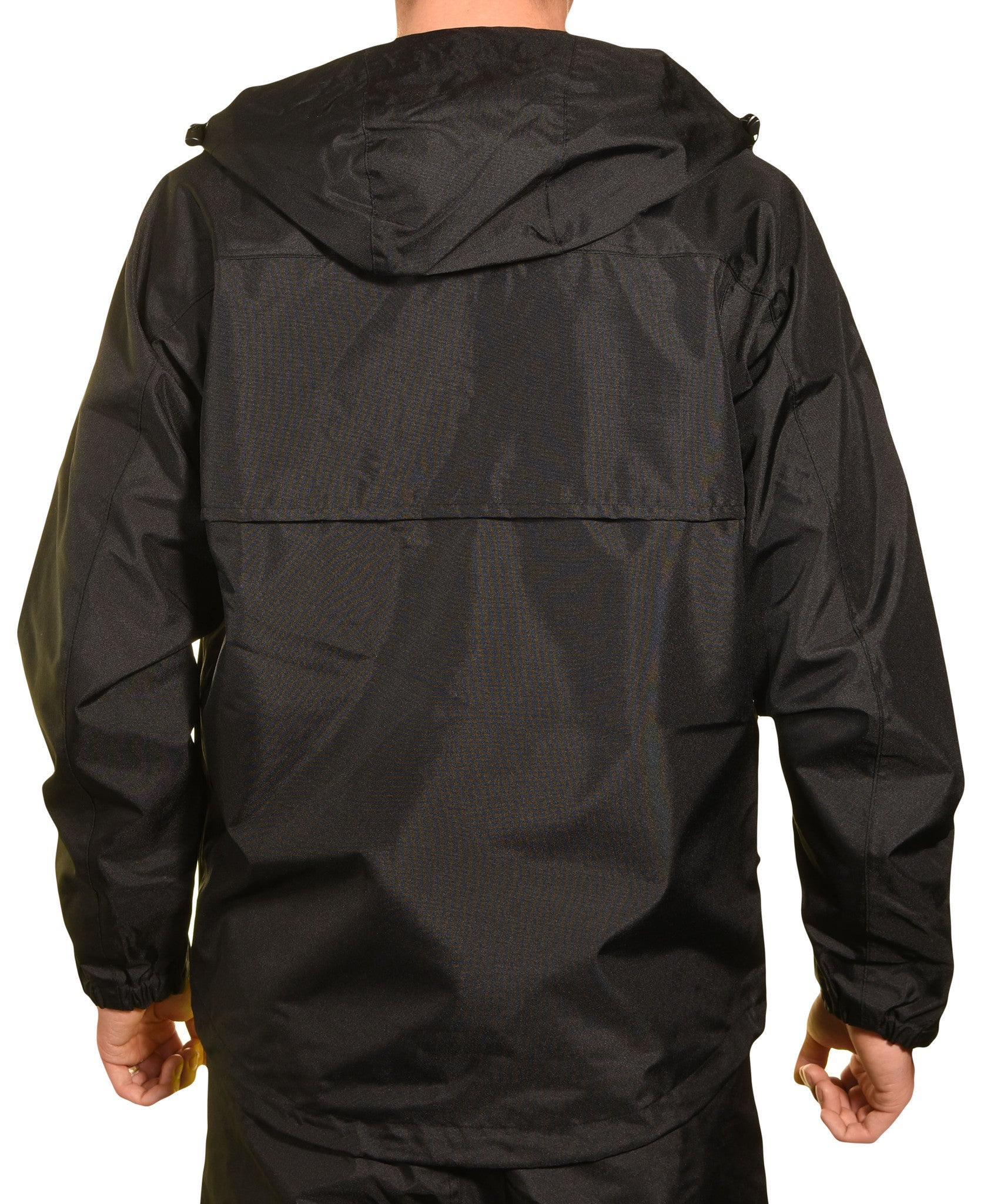 Guides Choice Mens Breathable Waterproof Seattle Storm Watch Parka - Black