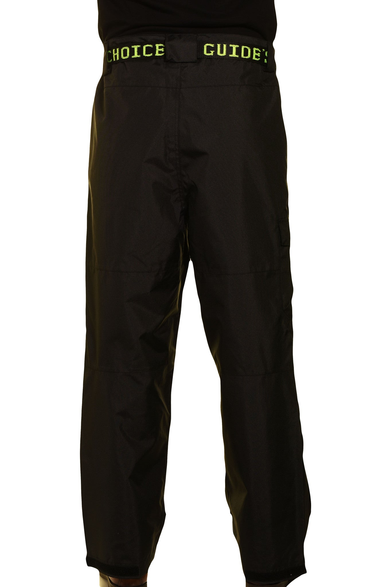 Guides Choice Mens Breathable Waterproof Seattle Storm Watch Pants - Black