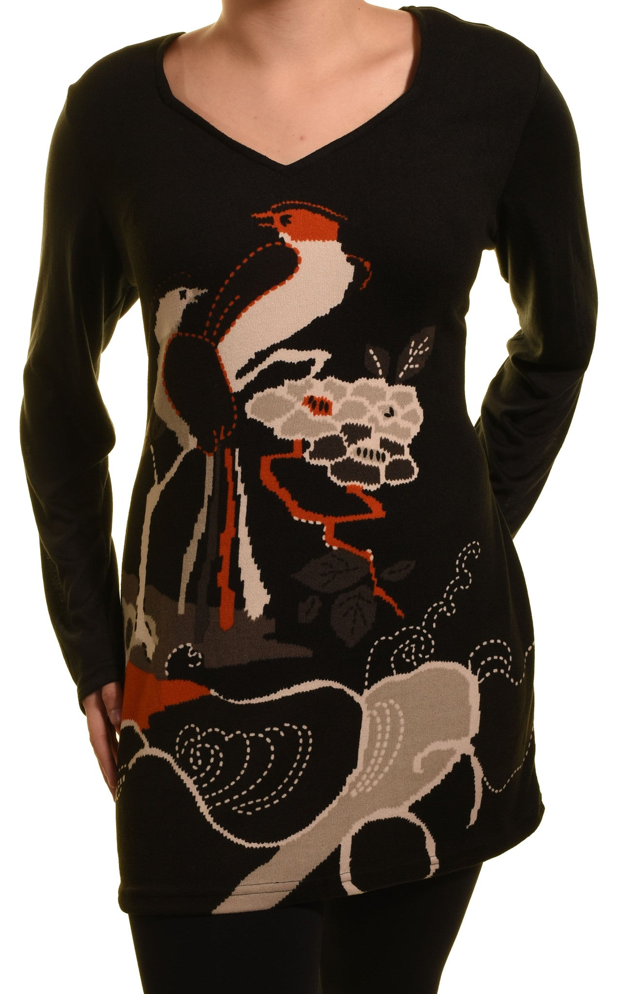 Highness Bird of Paradise Sweater Tunic