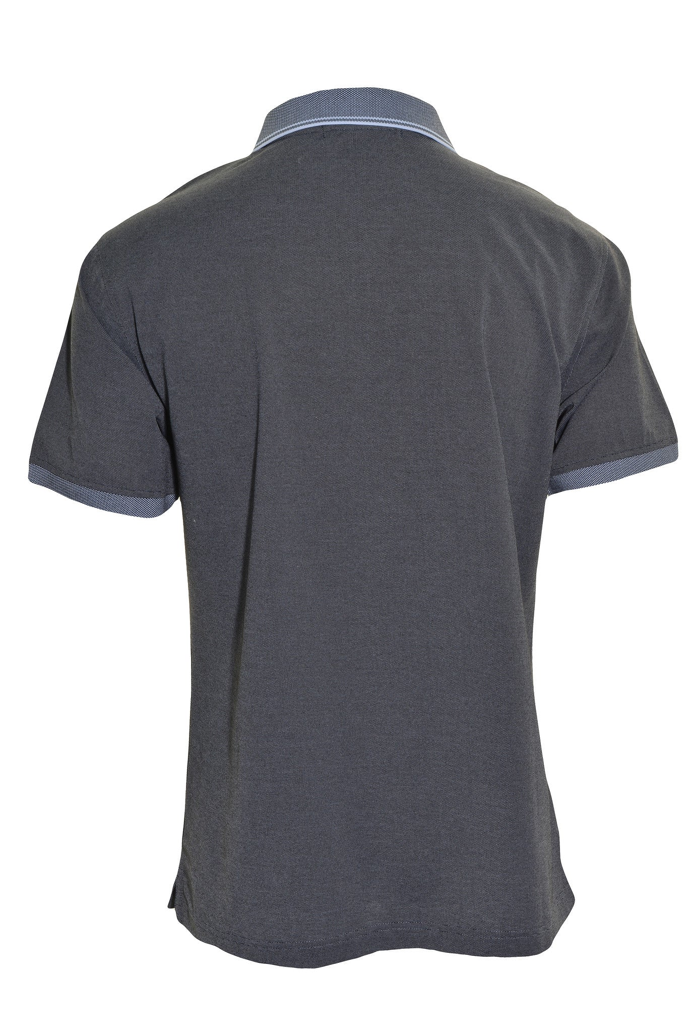 Hathaway Mens Relaxed Fit  Polo Shirt | Gray Black
