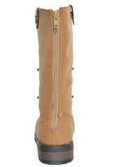 Reneeze Womens Alice08 Fold Down Convertible Boots (Camel Brown)