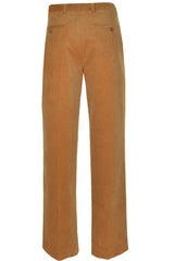 Hathaway Mens Pima Cotton Corduroy Pant (Camel Brown)