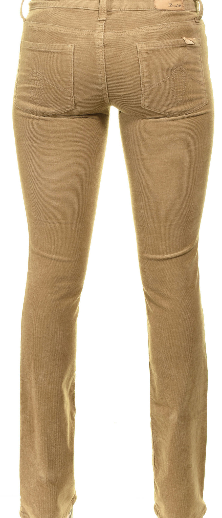 Level 99 Sasha Corduroy Classic Fit Jeans | Sparrow Brown #CY2571