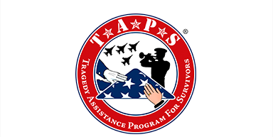 The Tragedy Assistance Program for Survivors (TAPS) offers compassionate care to all those grieving the loss of a loved one who died while serving in our Armed Forces or as a result of his or her service. Since 1994, TAPS has provided comfort vand hope 24/7 through a national peer support network and connection to grief resources, all at no cost to surviving families and loved ones.