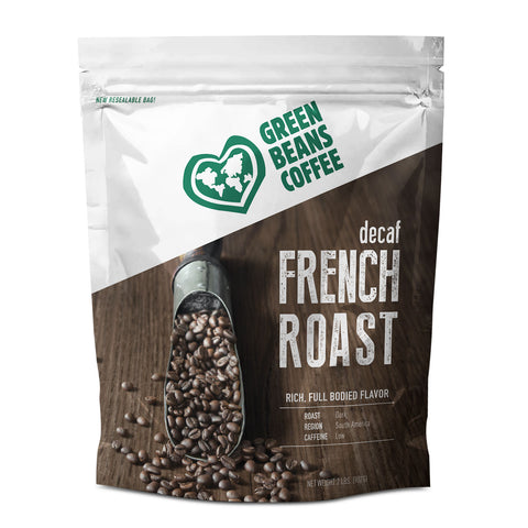 Green Beans Decaf French Roast