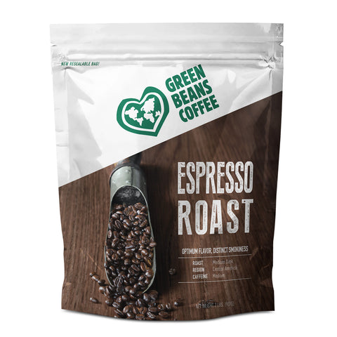 Green Beans Espresso Blend (5lb Bulk Bag)