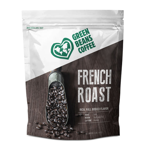 Green Beans French Roast (5lb Bulk Bag)