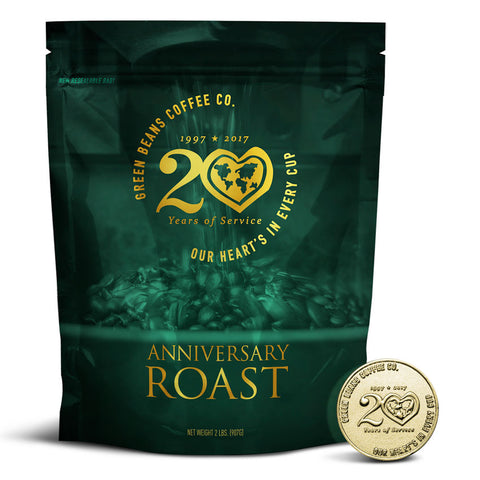 Limited Edition 20th Anniversary Roast + Challenge Coin Set