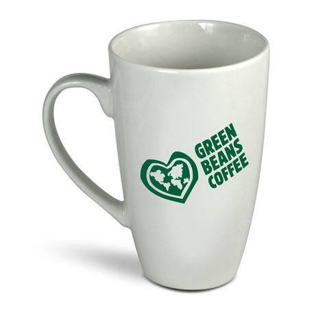 Green Beans Coffee Tall Latte Mug