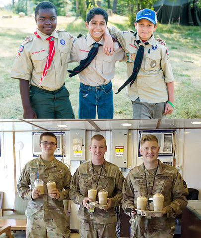Boy Scout Troop 74 Cup of Joe For a Joe Fundraiser