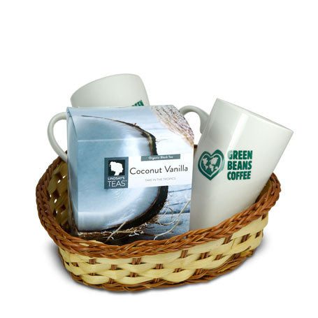 Green Beans Tea Lovers Gift Basket