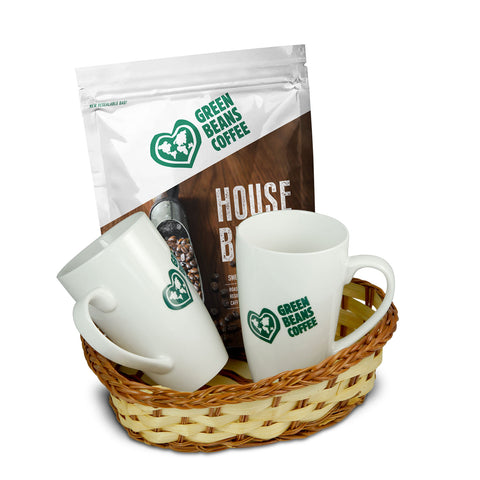 Green Beans Coffee Lovers Gift Basket