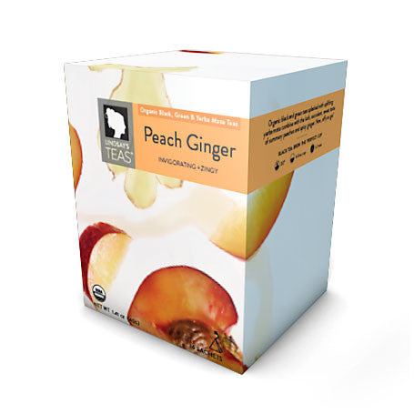 Organic Peach Ginger Tea
