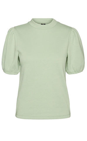 VERO MODA Bluse - Daisy Sweat - Laurel Green packshot fortil