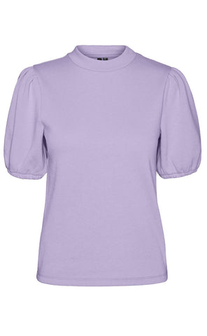 VERO MODA Bluse - Daisy Sweat - Pastel Lilac packshot fortil