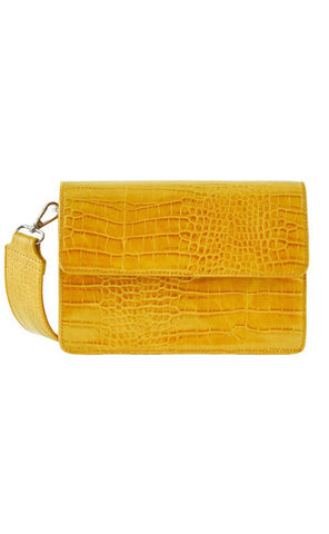 PIECES Jally Crossbody Bag - Nugget Gold-Mulieres.dk