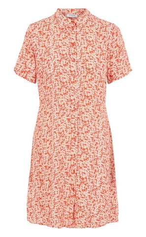 PIECES Monsi Shirt Dress - Grenadine-Mulieres.dk