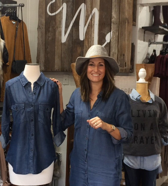 Fashionology 101 - The must have Denim Shirt