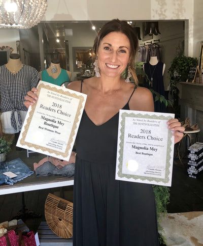 Our Best Boutique Award equals your reward!