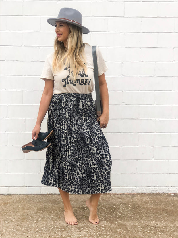INTO THE WILD MIDI SKIRT