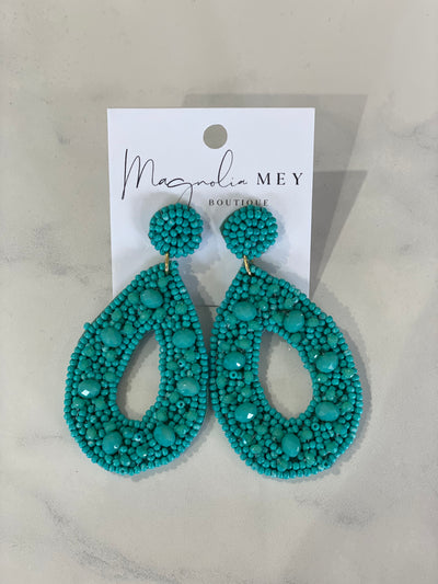 WEEKEND EARRING - TURQUOISE