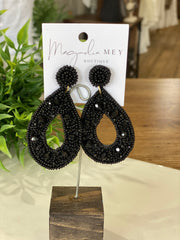 WEEKEND EARRING - BLACK