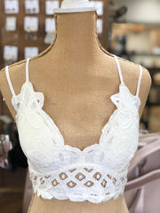 LUCY BRALETTE - IVORY