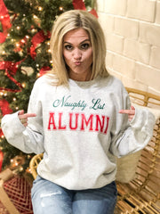 NAUGHTY LIST SWEATSHIRT