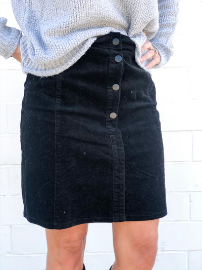 DARCEE SKIRT - BLACK