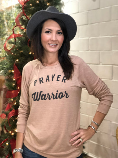 PRAYER WARRIOR SWEATER
