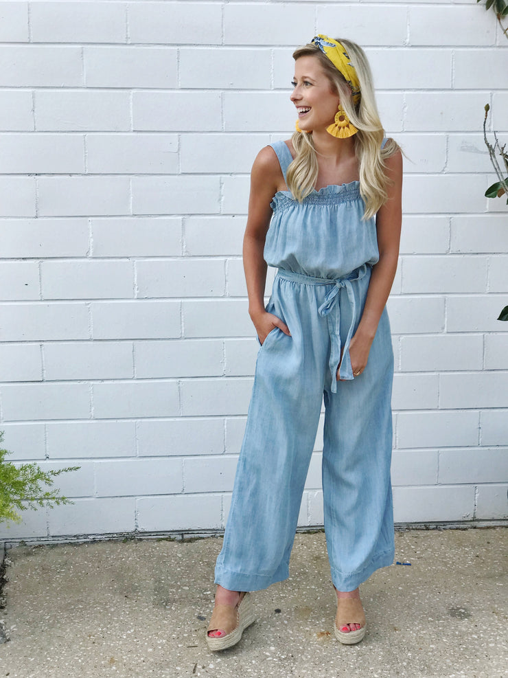 MANDY DENIM JUMPSUIT