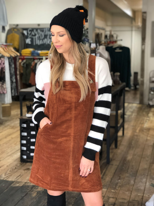 JENSEN OVERALL DRESS