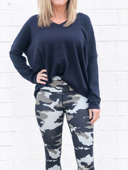 CAMO MESH LEGGINGS