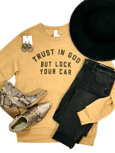 TRUST IN GOD SWEATSHIRT