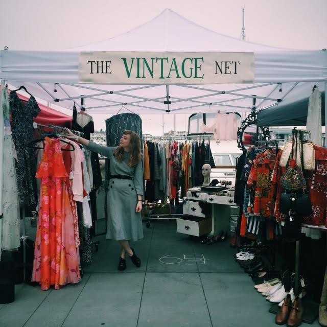The Vintage Net Pop Up Shop at Jack of All Trades