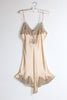 Darlington 1930s Peach Silk Charmeuse Step In Romper