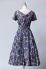 1950s New Look Mid Mod Dress Size Large