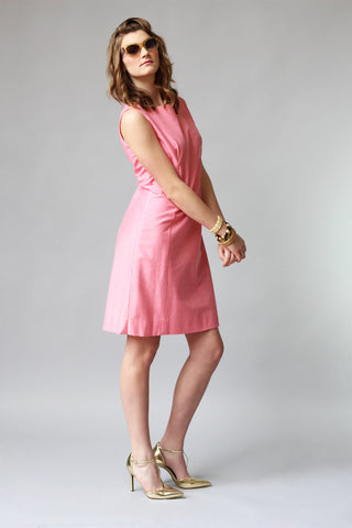 Classic with a Twist 1960s Bubblegum Shift Dress