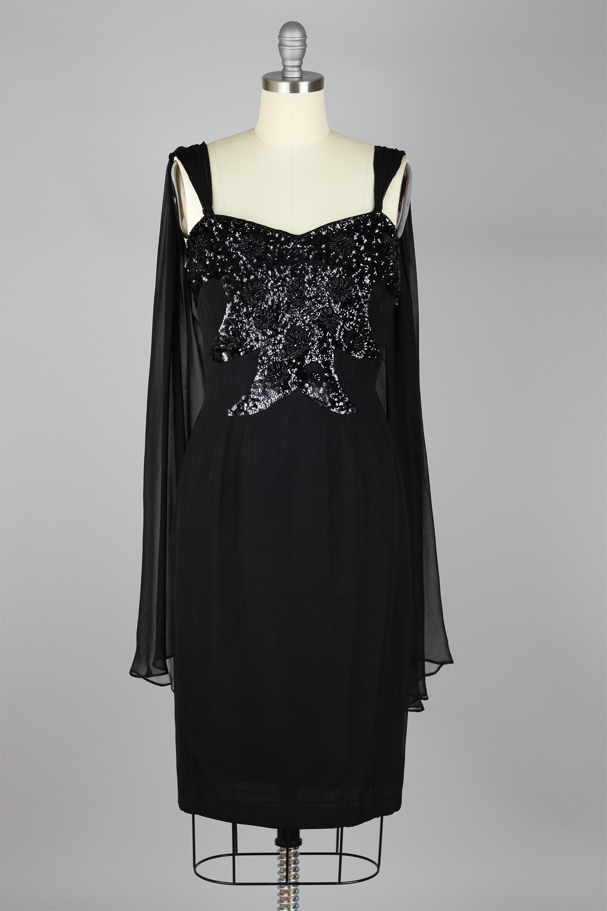 22cdb34fb55 1960s Steal The Show Sequin Dress – The Vintage Net