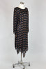 1920s Flapper Style Sequined and Beaded Egyptian Dress