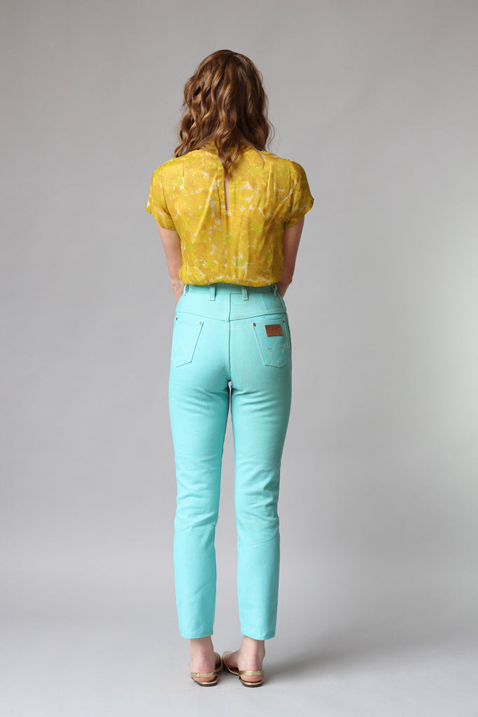 11162a0e 1960s Deadstock Wrangler High Waisted Cropped Skinny Jeans – The ...