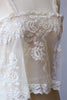 Antique 1890s-1910s Edwardian Princess Lace Top by Bonnie Strauss