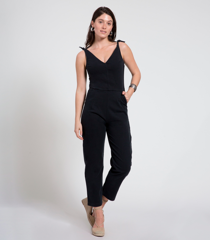 Loup Slate Coveralls - Black