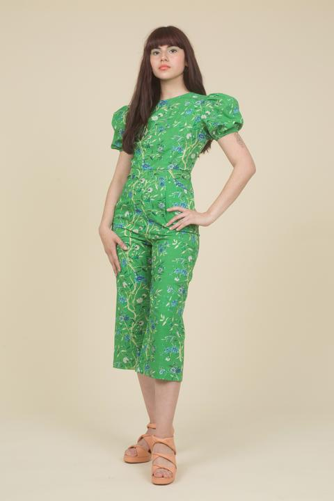 Green Garden Jumpsuit