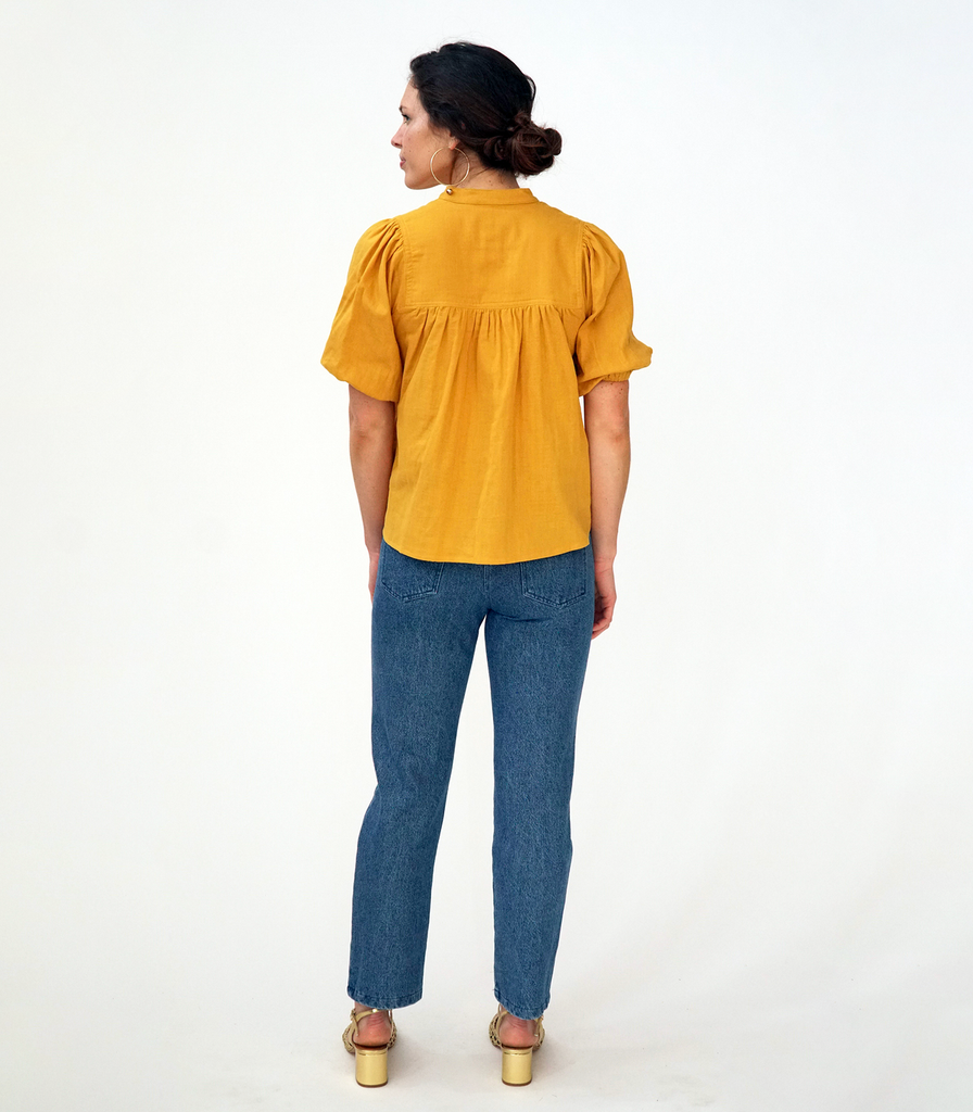 Grace Top - Canary