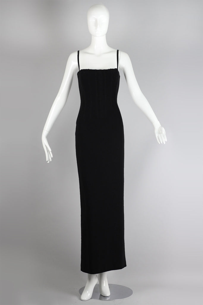 Rare Dolce & Gabbana Vintage Tube Evening Dress