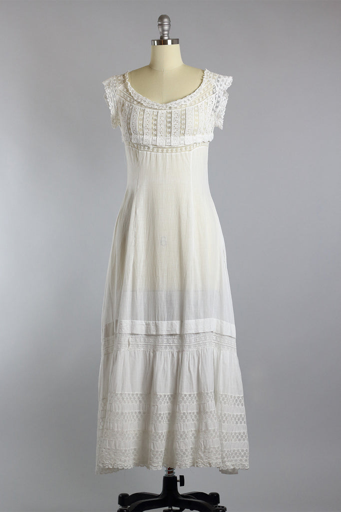 Edwardian Lawn Party Garden Dress